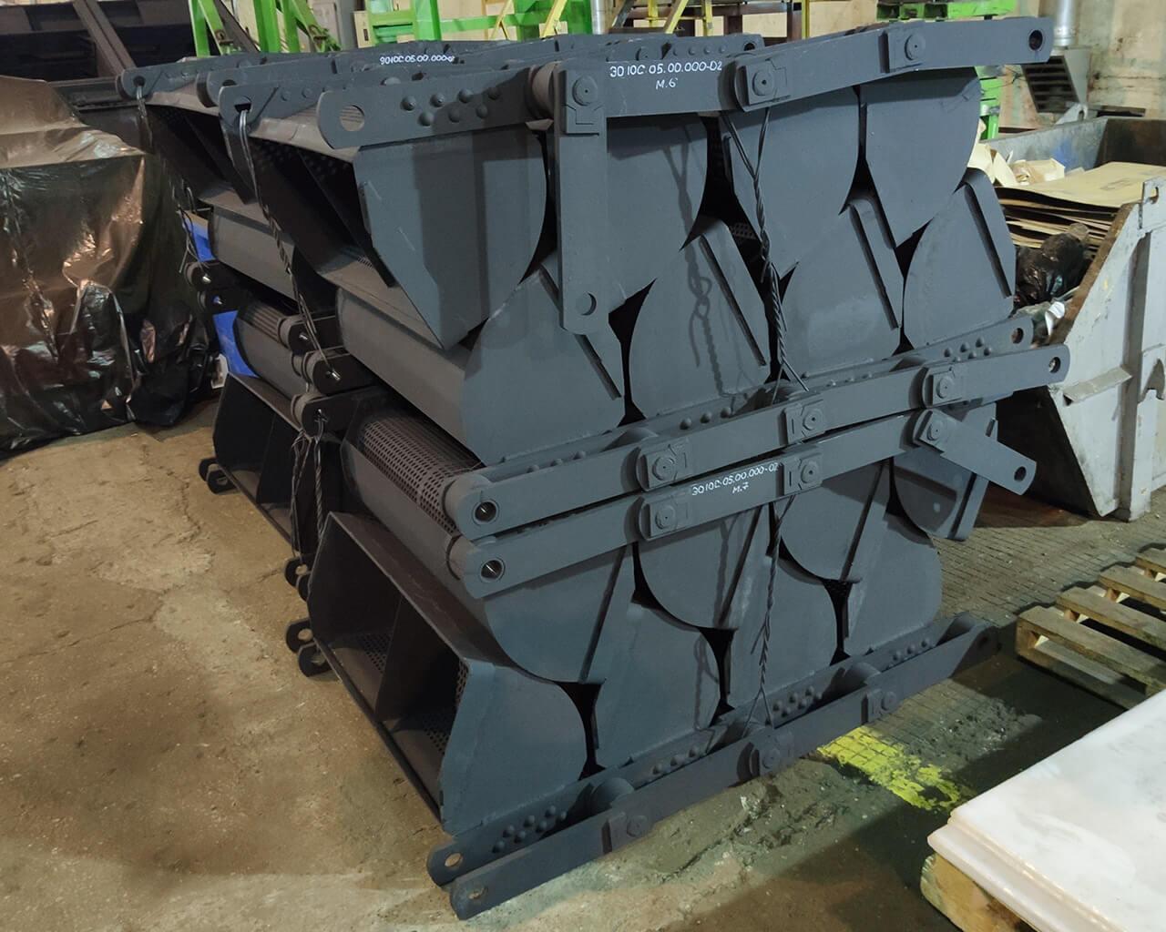Ковшовая лента элеватора транспортер т3 переделки